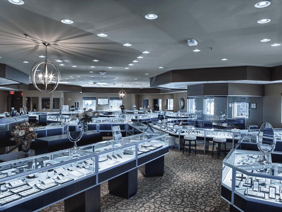 mücevher mağazacılık tasarımları