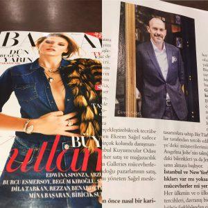 Ekrem Sağel Harper's Bazaar haberleri