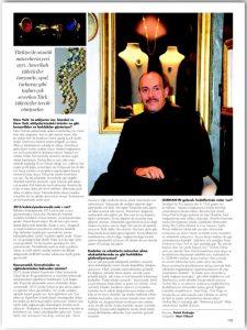 Ekrem Sağel Alem dergisi ropörtajı