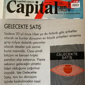 Capital dergisi gelecekte satış kitabı